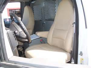 chevy express 2000 2011 iggee s leather custom seat