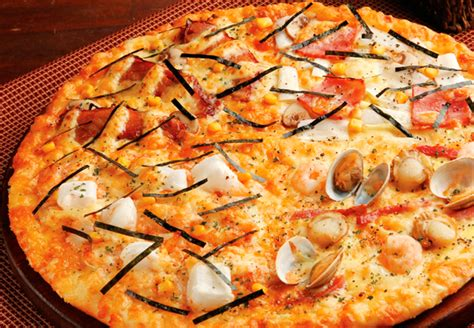 domino pizza japan flavourful pizza toppings for those who like their meal to