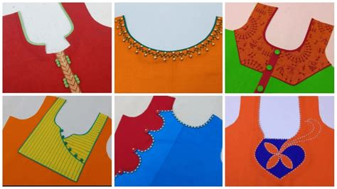 neck design cutting pattern latest front neck design cutting and stitching tutorial