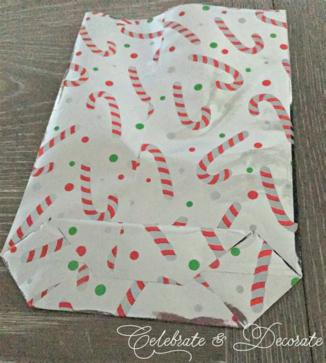 Make Gift Bags From Wrapping Paper - make a gift bag out of wrapping paper celebrate decorate