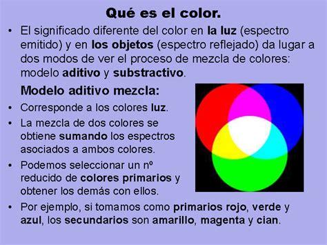 de la naturaleza es decir los modelos de las leyes que rigen el espacios y modelos de color monografias com