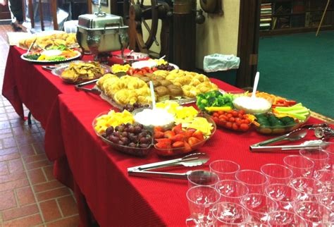 Catering Menu Breakfast Buffet Catering