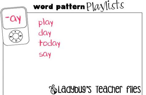pattern words for 10 best images about edu l a spelling on pinterest big