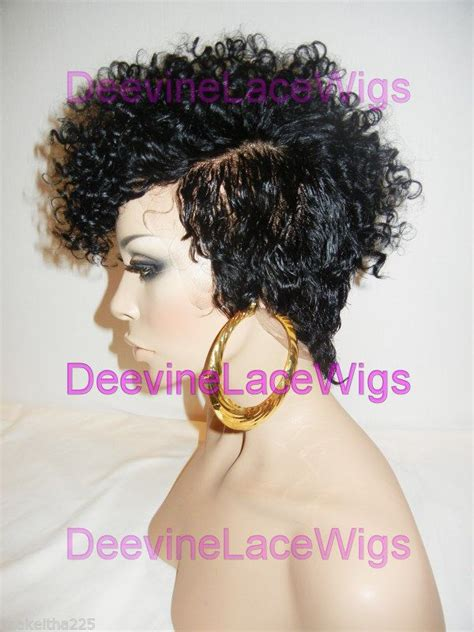 mohawks with tight human hair curls best 25 short hair wigs ideas on pinterest blonde bob