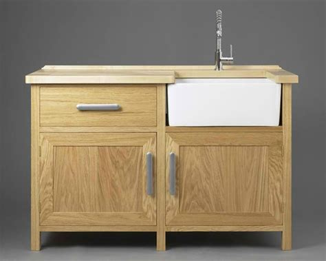 stand alone kitchen sink units 20 wooden free standing kitchen sink home design lover