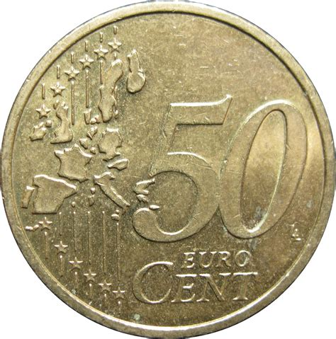 50 buro cent 50 cent coin