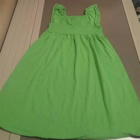 faded s m 7 8 green dress 7g from yvonne s