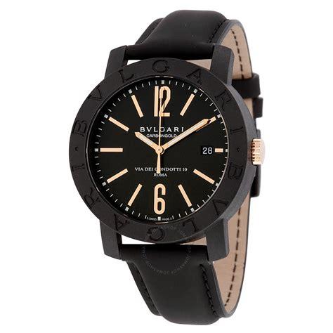 Bvlgari Otomatic bvlgari bvlgari automatic black black leather s