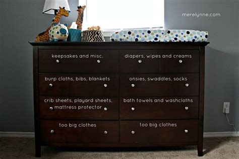 Organize Dresser by 25 Best Ideas About Baby Dresser On