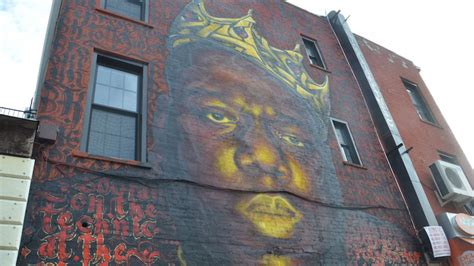 is bed stuy safe biggie mural in bed stuy safe after artists feared its end