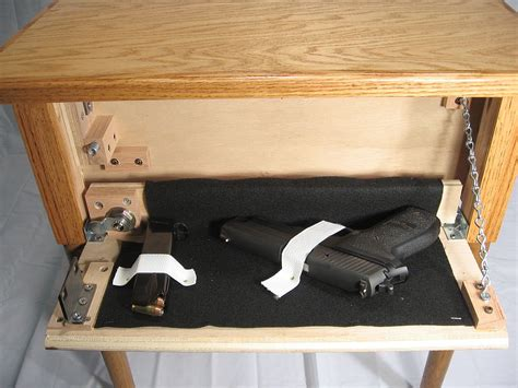 couch makers end table secret compartment gun furniture maker stashvault