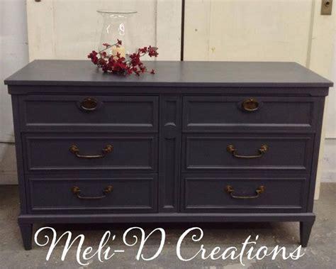 mid century dresser painted mid century modern dresser in queenstown gray milk paint
