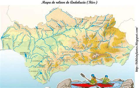 conocimiento medio andalucia 6 de coleydeporte mapas rios de andalucia y ejercicio 6 pagina 53 conocimiento medio quinto