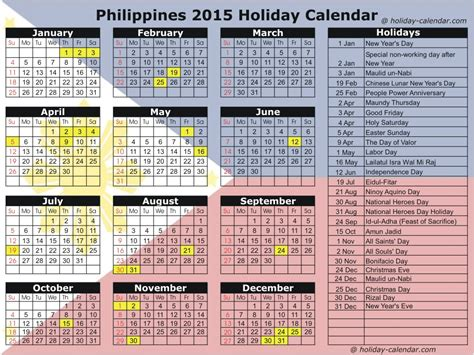 Printable Calendar With Holidays 2015 And 2016 Search Results For Philippine Calendar 2015 With Holidays