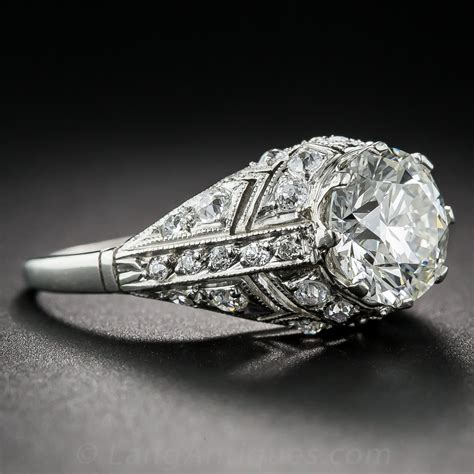deco ring styles 2 08 carat deco style ring
