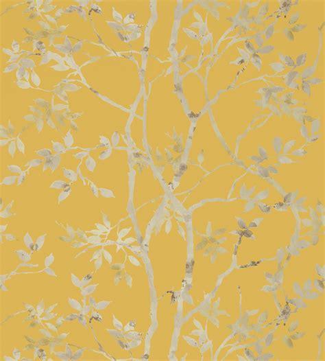 tyndall pewter on gold wallpaper zola wallpaper anna