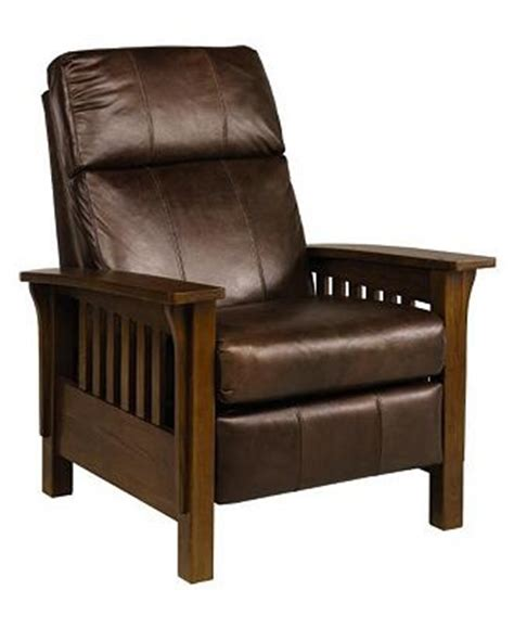 lazy boy mission style recliner macy s mission style recliner log cabin furniture