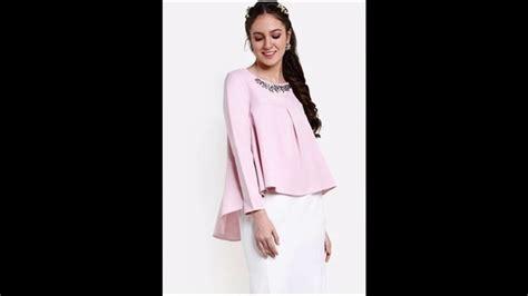 Now Baju Atasan Wanit baju muslim atasan blouse untuk lebaran 2017