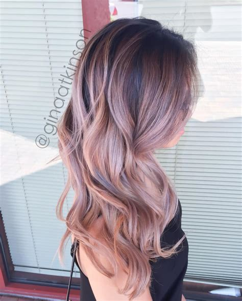 which hair color from sallys rose gold the 25 best rose gold ombre ideas on pinterest rose