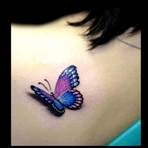 butterfly tattoo studio realistic colour butterfly tattoo done by brandon marques