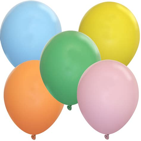 5 inch pastel assortment balloons 5 inch latex balloons