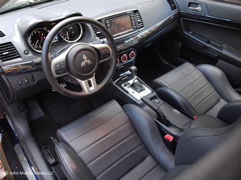Mitsubishi Lancer 2013 Interior by 2013 Mitsubishi Lancer Evolution Mr Interior