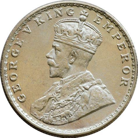 indian coin numista 1 rupee george v india numista