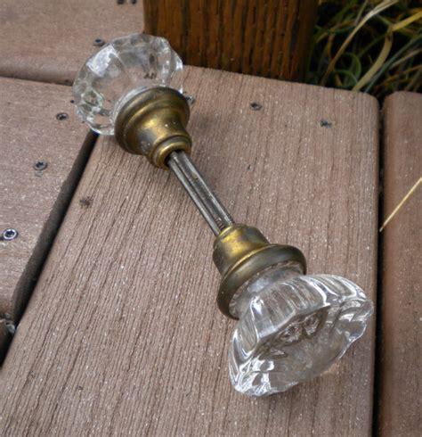 Restoration Door Knobs by Vintage Glass Door Knobs Glass Doorknobs Restoration