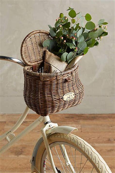 E T Bike Basket by Wiscahisset Bike Basket Anthropologie W A N T N