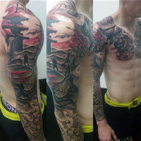 Tattoo Oriental No Braço | 25 melhores ideias sobre japanese temple tattoo no