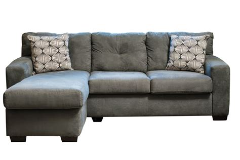 dolphin microfiber sofa with chaise