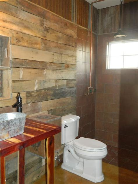 bathroom pipes exposed copper pipe for the shower rustic bathroom