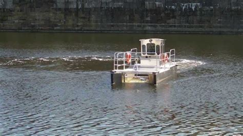 water witch boat marine debris buddy litter boat water witch 2013 youtube