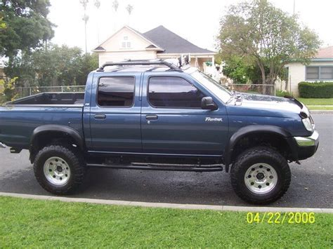 2000 nissan frontier lifted geosrides 2000 nissan frontier regular cab specs photos
