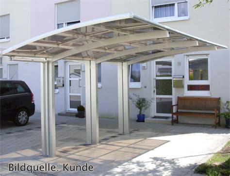 Terrassendach Freistehend Aluminium by Bernstein Aluminium Carport Pulverbeschichtet 5400 X 2700