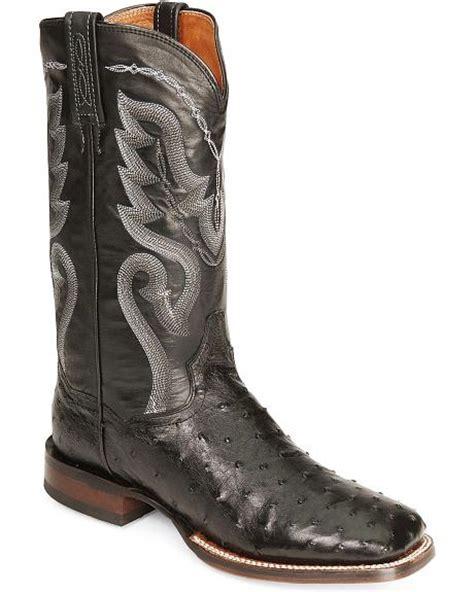 dan post quill ostrich cowboy certified cowboy boots