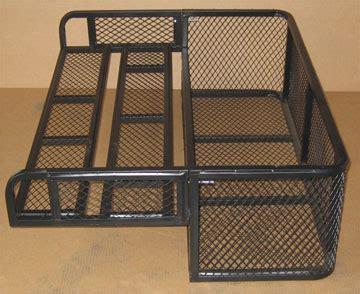 Atv Drop Basket Rack by 2 Pcs Atv Rear Drop Basket Great For Farm Ranch Cing