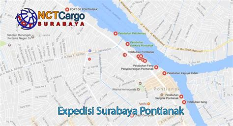 Expedisi Surabaya expedisi surabaya pontianak by nct jasa pengiriman