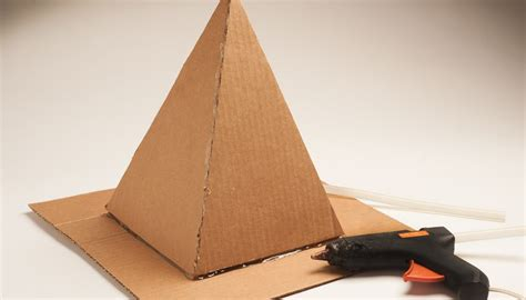 How Do You Make A Pyramid Out Of Paper - how to build a pyramid for a school project sciencing
