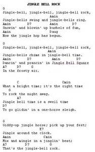 Jingle bell rock lyrics jingle bell rock christmas carols lyrics