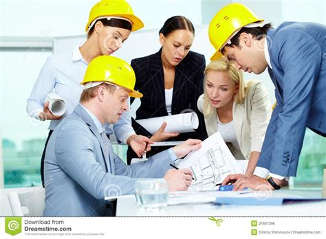 architects and their work architects at work royalty free stock image image 21667396