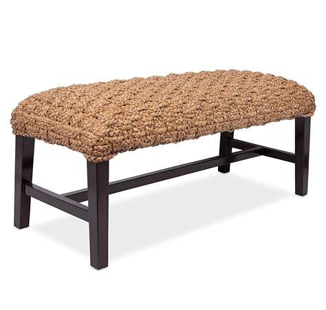 seagrass benches hand braided seagrass bench philippine furniture