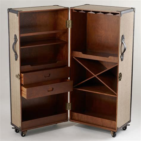 Trunk Bar Cabinet by The Craftastrophe Goal 8 Steamer Trunk Bar