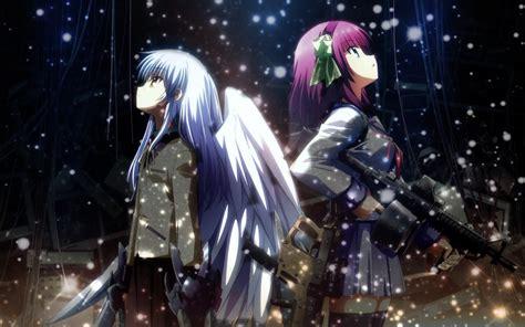 anime wallpaper hd angel beats anime images yuri and kanade angel beats hd wallpaper