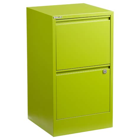 Green Filing Cabinet Bisley Green 2 3 Drawer Locking Filing Cabinets The Container Store