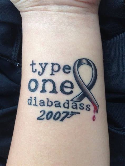type 1 diabetic tattoo designs 78 best ideas about diabetes on type