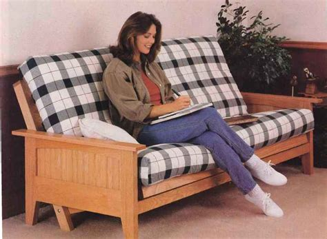 How To Make A Futon Frame by Wood Futon Frame Plans How To Build Furniture