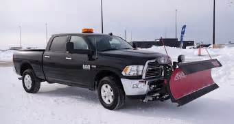snow plowing 101 with the 2015 ram hd 2500 video the
