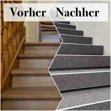 Treppe Neu Verkleiden by Holztreppe Mit Steinteppich Renovieren Steinteppich In