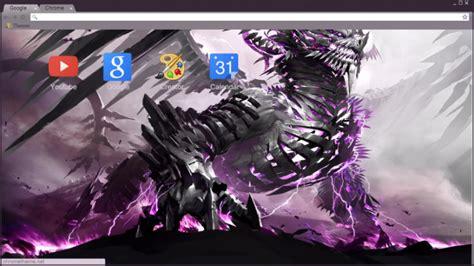 themes chrome league of legends metal lightning dragon league of legends chrome theme